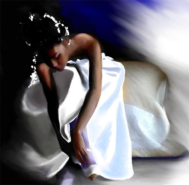 Illustration personnage - Mariage - Dominique Evangelisti