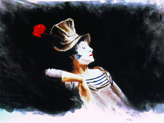 Mime Marceau-Dominique Evangelisti