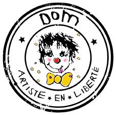 Logo Dom - Artiste en liberté