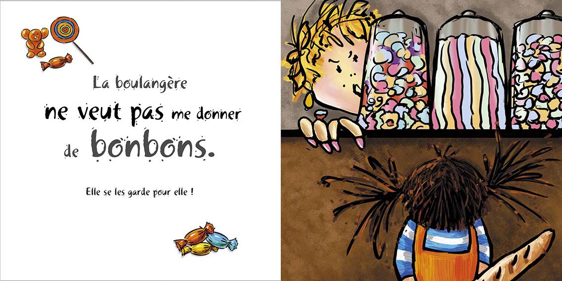 Album pour enfants-Zoé apprend à grandir Tome 2-Dom Evangelisti-Boulangerie