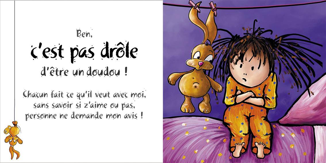 Album pour enfants-Zoé apprend à grandir Tome 1-Dom Evangelisti-C'est pas drôle !
