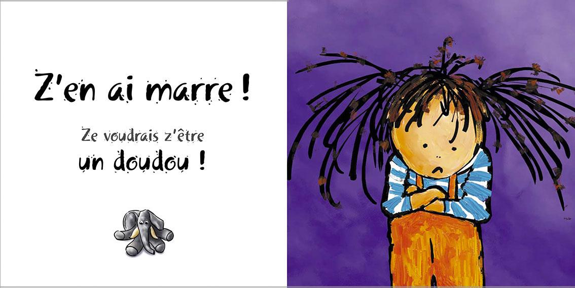 Album pour enfants-Zoé apprend à grandir Tome 1-Dom Evangelisti-Z'en ai marre !