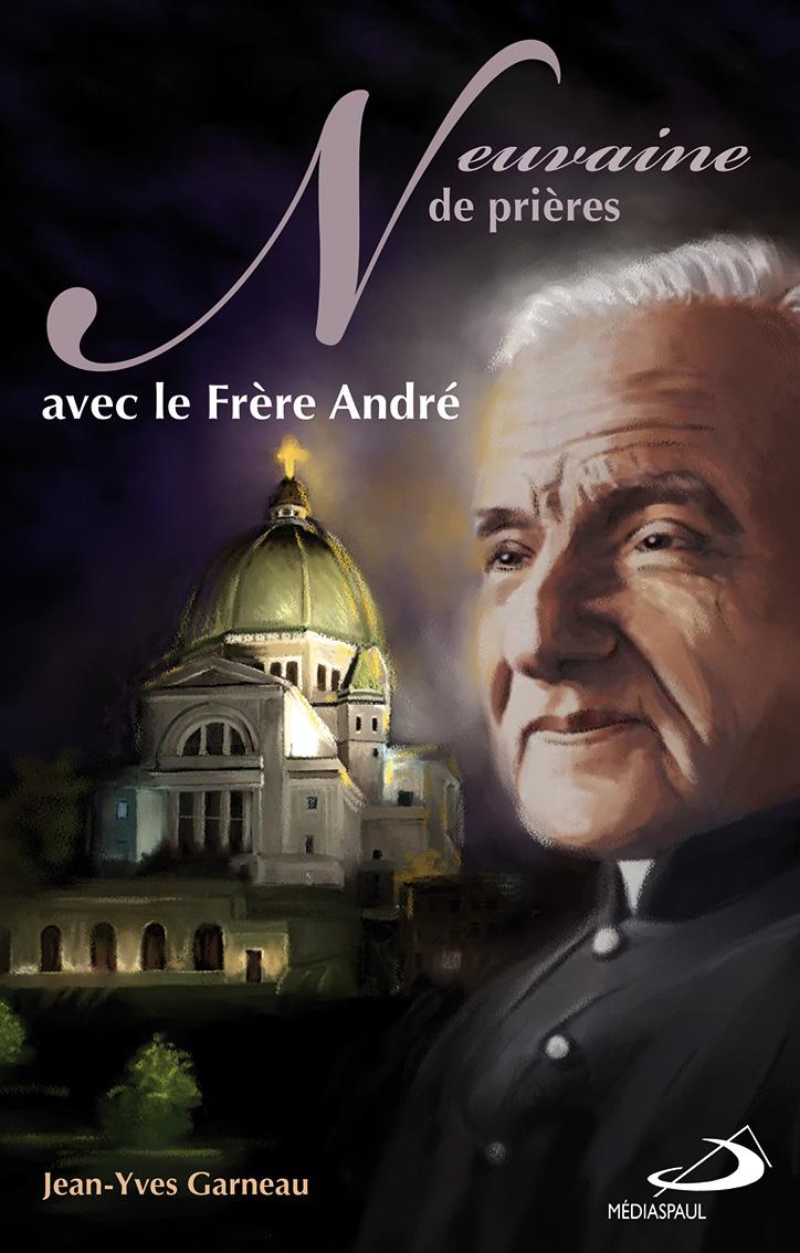 Illustration de couverture de livre Frère André-Dominique Evangelisti-Médiaspaul