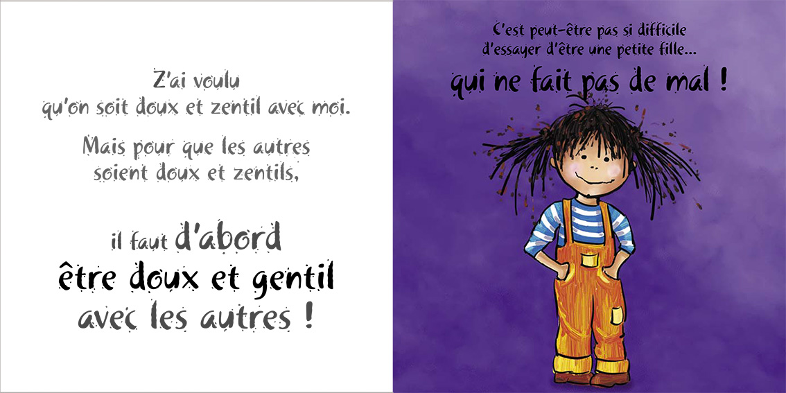 Album pour enfants-Zoé apprend à grandir Tome 1-Dom Evangelisti-Gentil doudou
