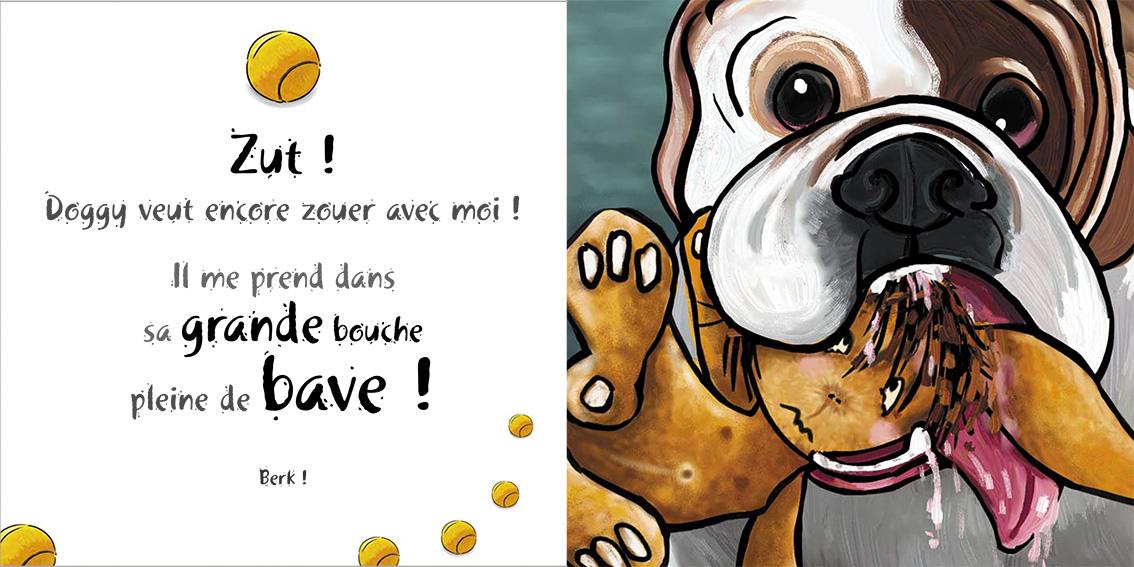 Album pour enfants-Zoé apprend à grandir Tome 2-Dom Evangelisti-Doggy-2
