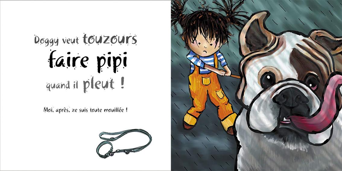 Album pour enfants-Zoé apprend à grandir Tome 2-Dom Evangelisti-Doggy