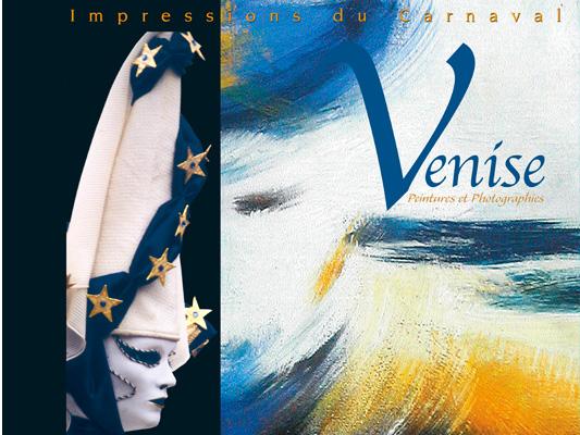 Livre photos et peintures Carnaval de Venise