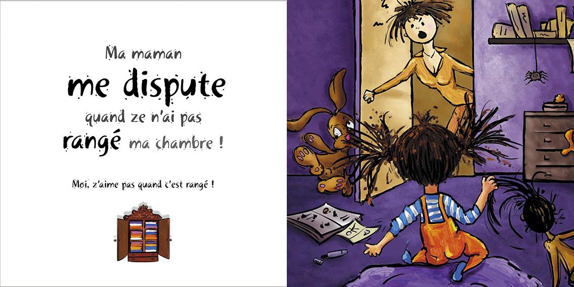 Album pour enfants-Zoé apprend à grandir Tome 2-Dom Evangelisti-Maman-1