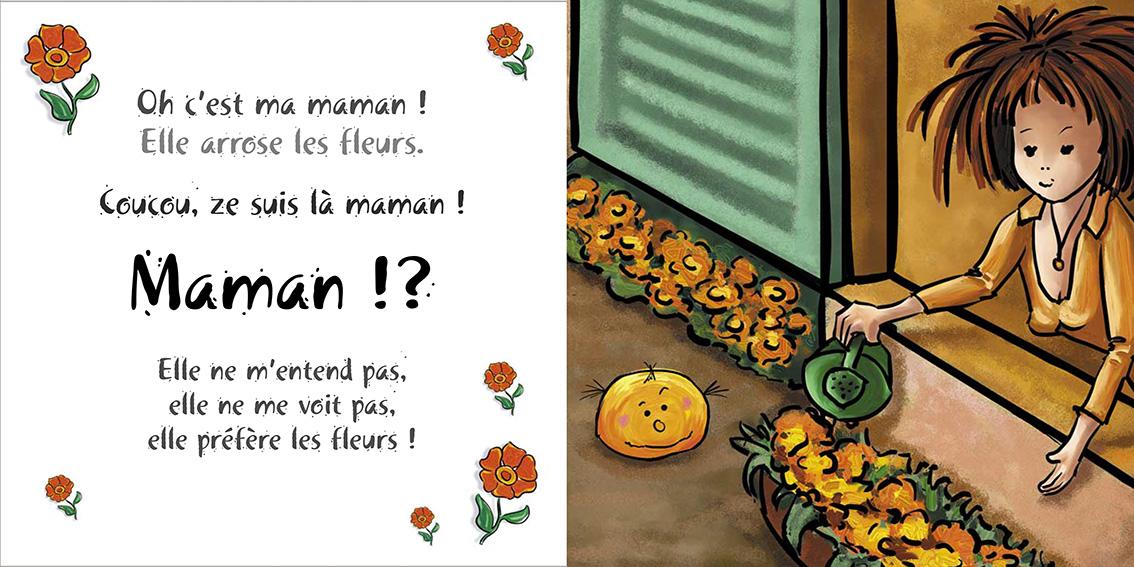 Album pour enfants-Zoé apprend à grandir Tome 2-Dom Evangelisti-Maman
