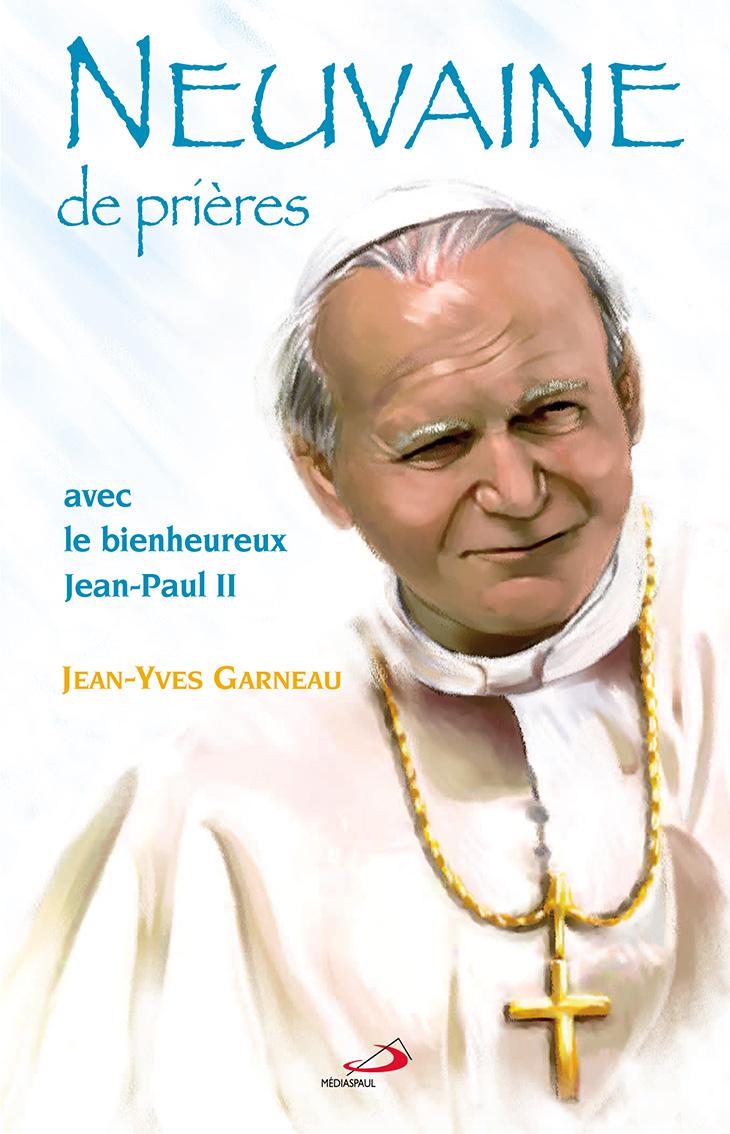 Illustration de couverture de livre Neuvaine-JP-I-Dominique Evangelistii-Médiaspaul