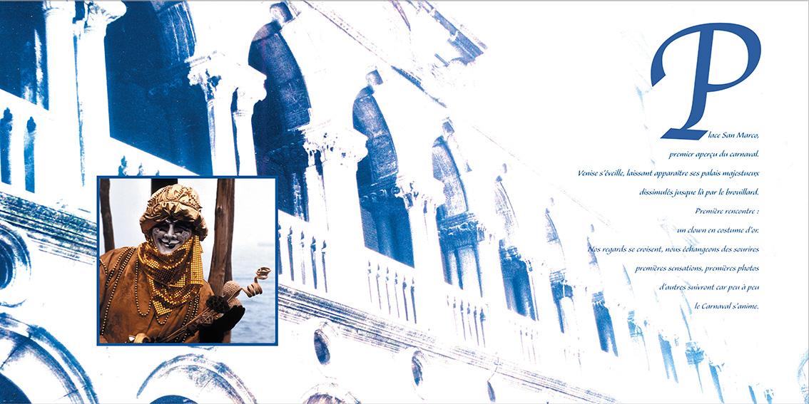 Livre Carnaval de Venise-Dom Evangelisti-Page intérieure
