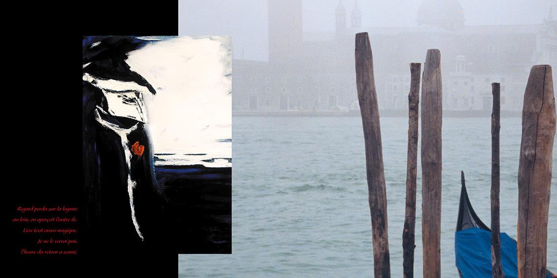 Livre Carnaval de Venise-Dominique Evangelisti-Page intérieure