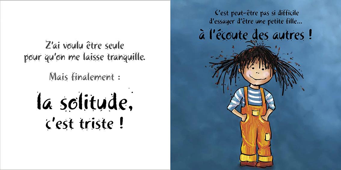 Album pour enfants-Zoé apprend à grandir Tome 2-Dom Evangelisti-Solitude