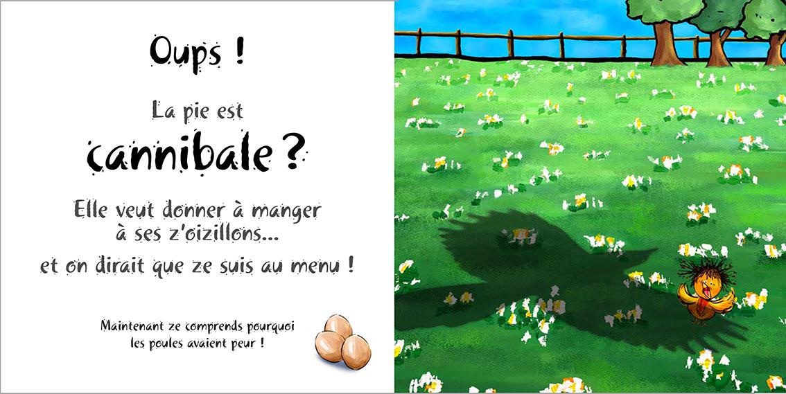 Album pour enfants Zoé-Dom Evangelisti : Pie