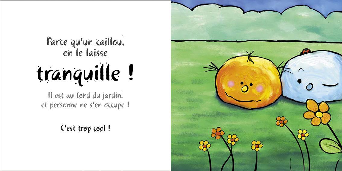 Album pour enfants-Zoé apprend à grandir Tome 2-Dom Evangelisti-Caillou Tranquille