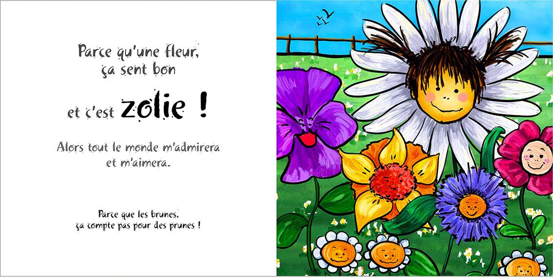 Album pour enfants-Zoé apprend à grandir Tome 3-Dom Evangelisti-Zolie Fleur