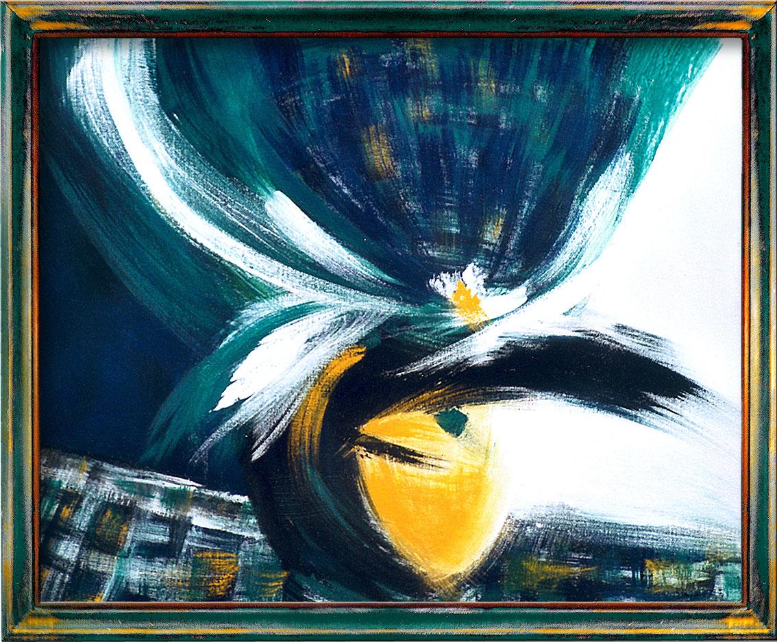 Peintures Carnaval de Venise-Dominique Evangelisti-Chapeau Vert