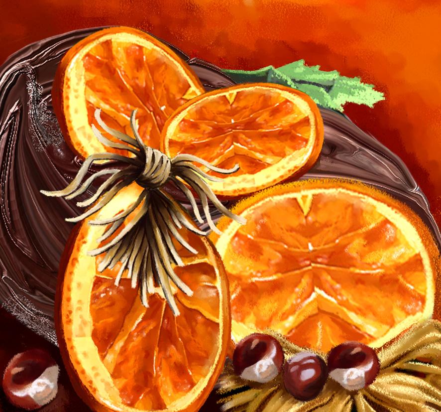Oranges-seches