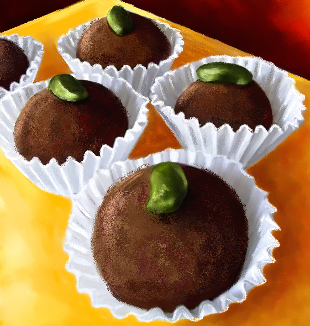 Truffes-chocolats