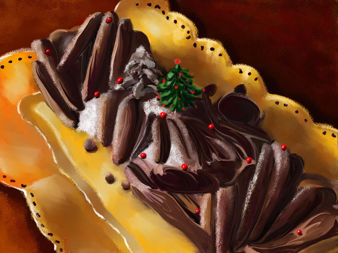 buche-chocolat